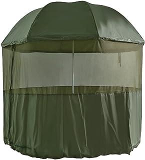 """MK-Angelsport """"fiskeräcke moskito skärmtält stängd kupol fiskeskydd karpfiske skärm brolly skärm"""