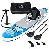 riptide Aufblasbares Stand Up Paddle Board-Set TRIPAL 330cm mit Kayakfunktion