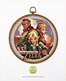 The Legend of Zelda #K064 Embroidery Cross Stitch Kit | Game Cross Stitch Patterns | How to Cross Stitch | Needlepoint Kits | Embroidery Designs