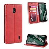 Coque de luxe en cuir pour Nokia 9 PureView Nokia 1 Plus 1.3 1.4 1plus avec emplacements pour cartes...
