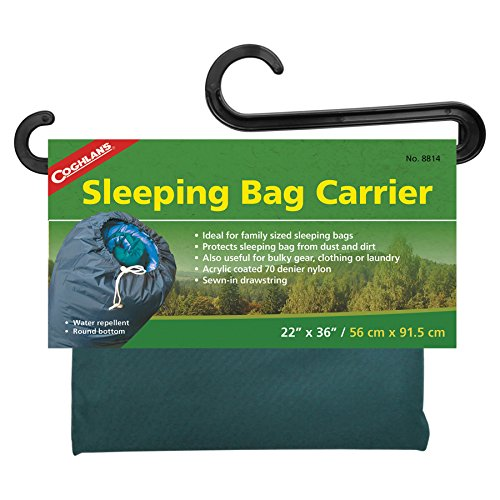 "Coghlan's Sleeping Bag Carrier, 22"" x 36"" Color may vary"