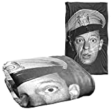 Trevco Andy Griffith Show Barney Head Silky Touch Super Soft Throw Blanket 36' x 58'