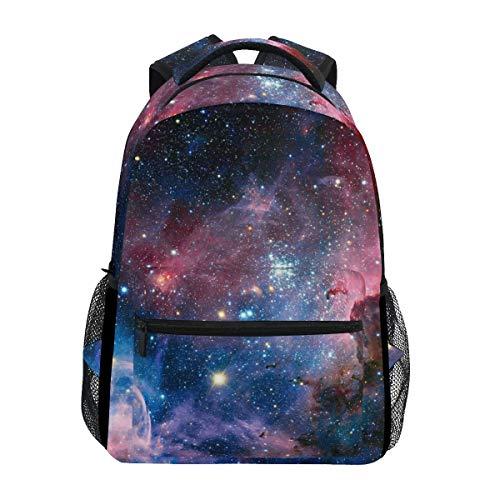 Space Nebula Galaxy Star Comos Jungen Mädchen Schule Computer Rucksäcke Büchertasche Reisen Wandern Camping Daypack