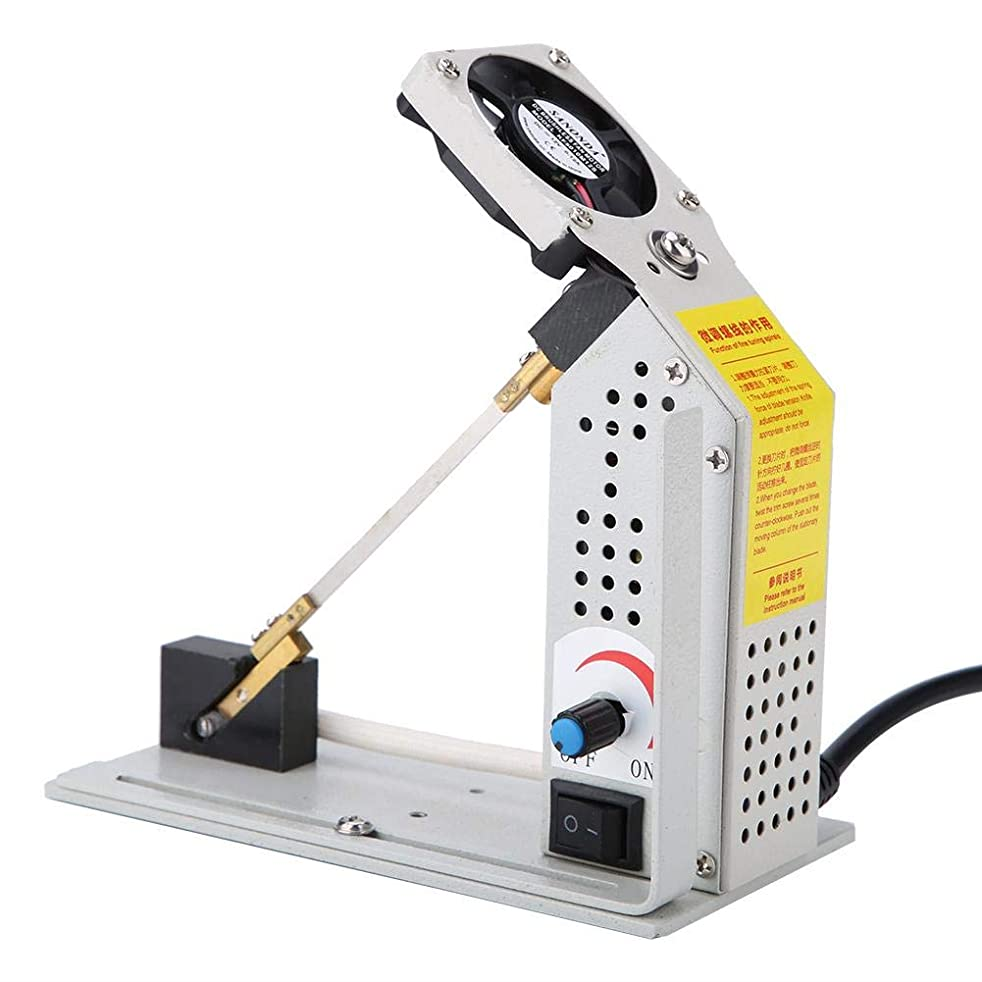 ZJchao Electric Rope Cutter Hot Cutting Machine Hot Knife Thermal Blade for Cutting Rope, Webbing, Fabric, Elastic Band(US Plug)