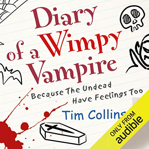 Diary of a Wimpy Vampire audiobook cover art