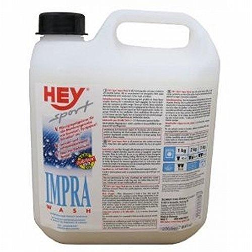 HEY sport IMPRA Wash-In Flüssigimprägnierer Imprägnierwaschmittel für Textilien wie GORETEX, SYMPATEX, 2.5 l