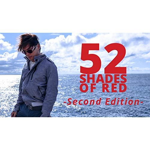 52 Shades of Red Version 2 by Shin Lim - original product - Karten Tricks - Zaubertricks und Magie