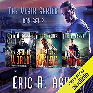 The Vesik Series: Books 4-6 audiobook cover art