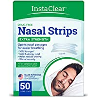 50-Count Instaclear Extra-Strength Nasal Breathing Strips