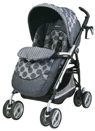 Peg Perego S1P3C2PG53 Pliko P3 Compact Completo - Pois Grey