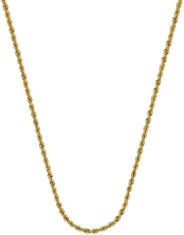 ventas de salida 14K oro amarillo hueco cuerda cadena collar 1,8mm cierre de de de pinza de langosta opciones de longitud  4146515661  wholesape barato
