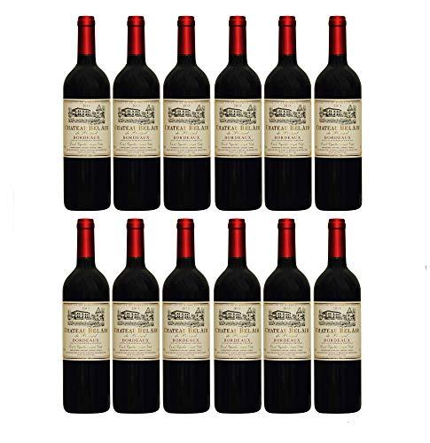 Château Bel Air de Perigal Bordeaux Rotwein französischer Wein trocken AOC Frankreich (12 Flaschen)