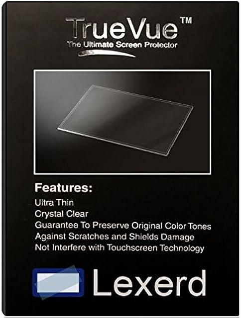 Protector de Pantalla para cámaras Digitales Lexerd - Compatible with Panasonic Lumix DMC-LS80 TrueVue Transparente