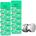20-Pack Nightkonic LR41 1.5V Button Coin Cell Batteries