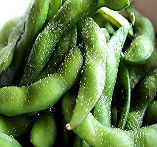 Japanese Edamame seeds ~~ Soy Bean HIGH IN PROTEIN -- Young Soy Bean - 80 - 90 Days (0125 Seeds - 1 oz)