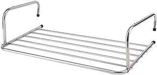 Zaixi Rejilla de Secado Colgante de Acero Inoxidable, secador de radiador Plegable (3 tamaños) yijia (Tamaño : 80cm)