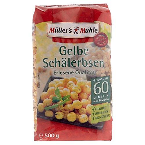 Müller\'s Mühle Gelbe Schälerbsen, 500 g