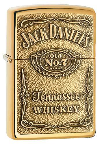 Zippo Brass Jack Daniel