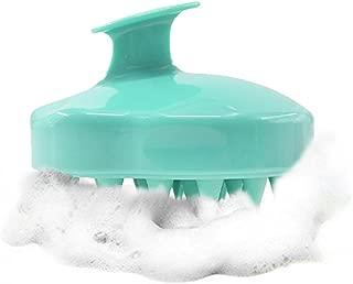 Hair Scalp Massager Shampoo Brush, Scalp Care Hair Wash Brush Silicone Comb - Green