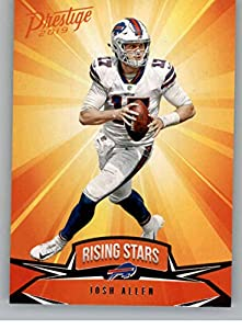 2019 Panini Prestige Rising Stars #RS-JA Josh Allen Buffalo Bills Football Card