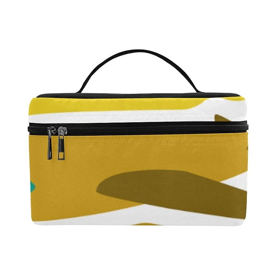 サバント注目すべきめ言葉GXMAN メイクボックス 飛行機のおもちゃ コスメ収納 化粧品収納ケース 大容量 収納ボックス 化粧品入れ 化粧バッグ 旅行用 メイクブラシバッグ 化粧箱 持ち運び便利 プロ用