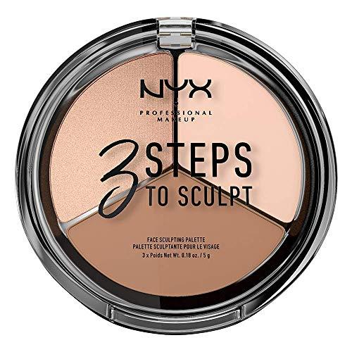 NYX Professional Makeup Palette Sculpting 3 Steps...