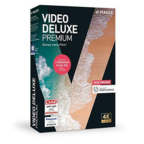 Video deluxe 2020 Premium – Genau mein Film!|Premium|2 Geräte|unbegrenzt|PC|Disc|Disc