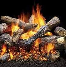 fireside grand oak log set
