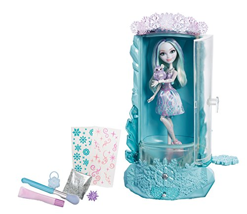 Ever After High Epic Winter Sparklizer con Crystal Winter Puppe