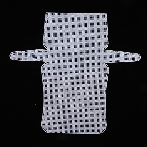 Colcolo Materiali per La Produzione di Borse in Tela a Rete all'Uncinetto con Tappeto Bianco
