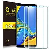 KuGi Samsung Galaxy A9 2018 Panzerglas , 9H Hartglas Glas Schutzfolie [HD Ultra] [Anti-Kratzer] Bildschirmschutz Für Samsung Galaxy A9 2018 smartphone. Klar [2 PACK]