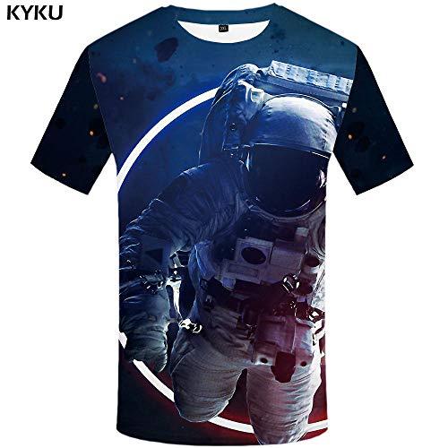 Zzfklj Avengers Fashion T Shirt Men Marvel T-Shirts 3D Film Funny Fashion T Shirts Galaxy Fashion T Shirt Printed Colorful Anime Clothes-Dx5008_S