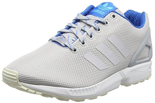 adidas adidas Herren ZX Flux Sneakers, Grau (Lgh Solid Grey/Shock Blue/Blue Glow), 39 1/3 EU