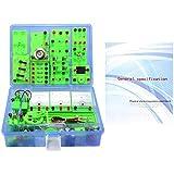 S SMAUTOP Kit de Circuito de Física, Experimentos de Electricidad y Magnetismo Laboratorio de Ciencias Kit Básico de Laboratorio de Aprendizaje de Circuito Básico para Niños, Juego de Kits Educativos