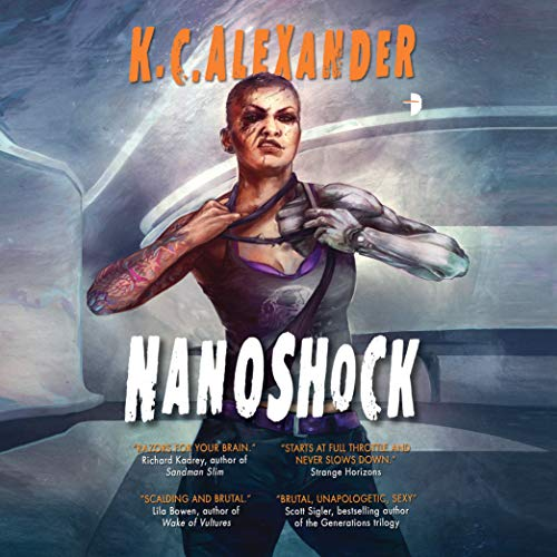 Nanoshock audiobook cover art