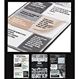 Born Again Waterproof Bible Verse Stickers Book- Quality Vinyl Bible Stickers- Laptop Stickers Bible Verses- UV Resistant Scripture Stickers- Christian Spiritual Stickers Faith- Bible Quote Stickers Christians