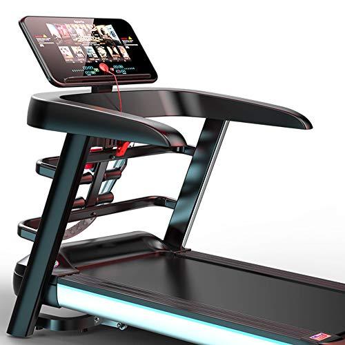 Joyfitness Accueil Tapis de Course, écran Couleur WiFi Pliant Multifonction Professionnelle pour Treadmill Maison Équipement Fitness Course à Pied, Twelve Speed Conversion