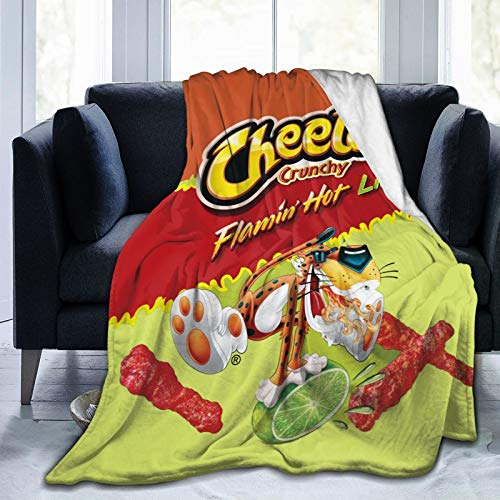 JooKrrix Flannel Fleece Blanket with Pompom Fringe, Cozy Breathable Queen Size Comfort Bed Blanket...