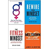 Men Are from Mars Women Are from Venus, Rewire Your Mindset, The Fitness Mindset, Meltdown 4 Books Collection Set