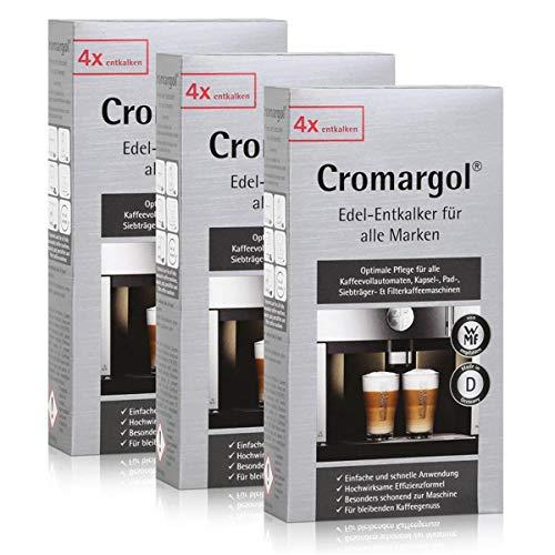 WMF Cromargol Edel-Entkalker für Kaffeevollautomaten 4x100ml (3er Pack)