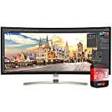 LG 38' 21:9 WQHD Curved IPS Monitor (38UC99-W) with 1 Year Extended Warranty