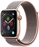 Apple Watch Series 4 44mm (GPS + Cellular) - Cassa In Alluminio Color Oro Con Rosa Sabbia Sport Loop (Ricondizionato)