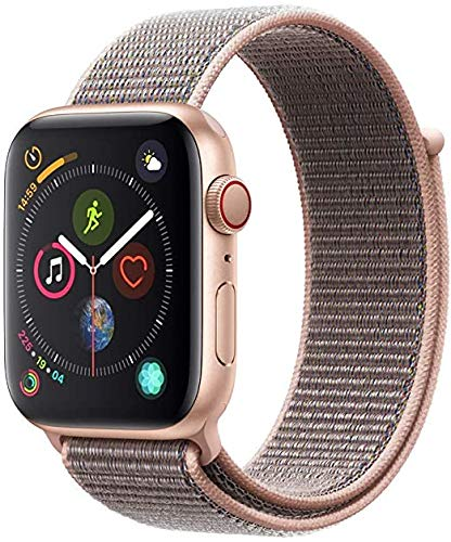 Apple Watch Seires 4 44mm (GPS + Celular) - Caja De Aluminio En Oro / Pomelo Correa Loop Deportiva (Reacondicionado)