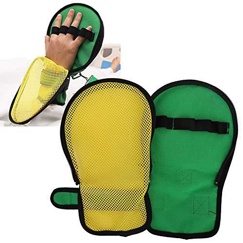 Controle Wanten, Vinger Veiligheidscontrole Handschoenen Hand Infectie Beschermers Gecapitonneerde Veiligheid Universele Vaste Open Vinger Handschoenen voor zowel Links als Rechts Hand, Mannen en Vrouwen