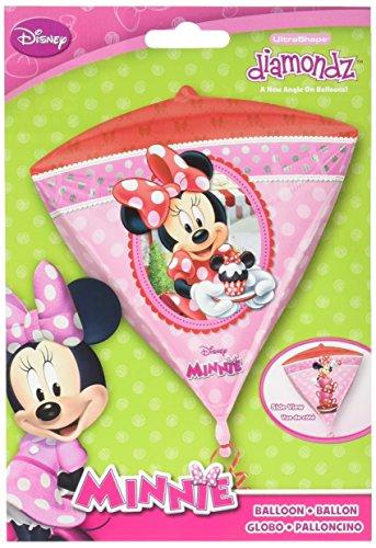 Anagram International Minnie Mouse Diamondz Ballon Pack, 43,2 cm Multicolor