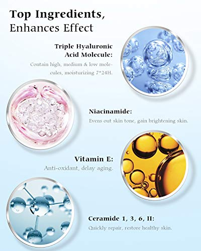 51wJWZgVTQL - Polypeptide Face Cream, Anti Aging Face Moisturizer for Anti Wrinkles, Hydrating, Brightening, Moisturizers for face with Polypeptide, Nicotinamide, Hyaluronic Acid, Vitamin E