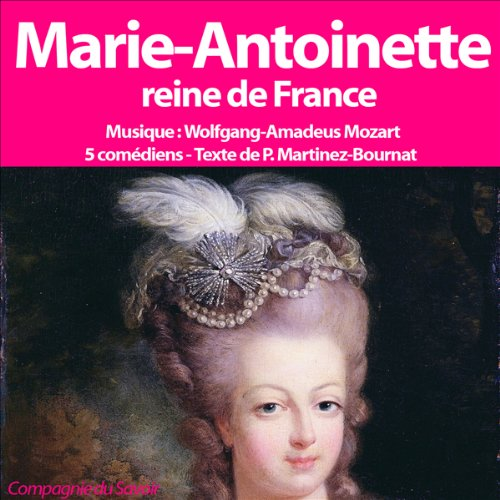 Marie Antoinette audiobook cover art