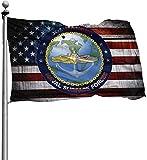 dfgjfgjdfj Flaggen Commander Naval Surface Forces - Military Flags Veteran Flag Vintage Flag 3x5 Ft