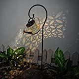 Doublehero LED Solarlaterne für Außen, Gartendeko Solarlampen Dekorative Solarlampe Garten Laterne IP55 Wasserdicht Solarlampe, Giesskanne Stil Lights Solarleuchten Lichterkette