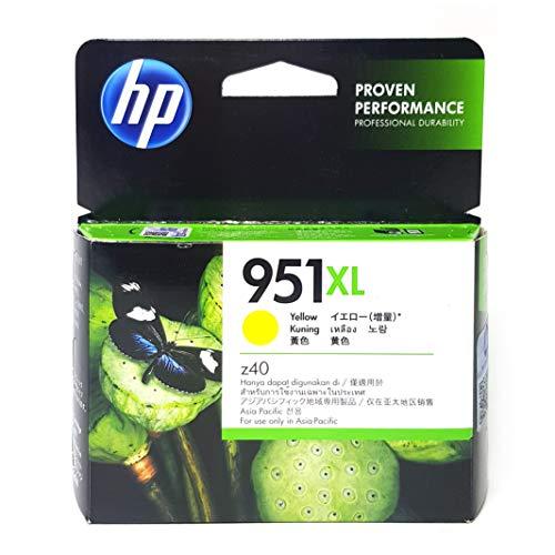 HP 951XL Yellow - Cartucho de Tinta para impresoras (Amarillo, 1500 páginas, HP Officejet Pro 8600, 10 - 90%, -40 - 60 °C, 5 - 35 °C)